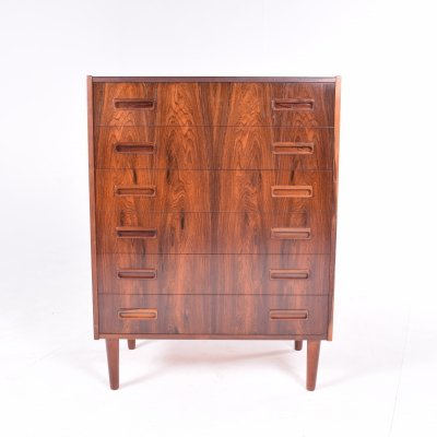 Mid Century Chest of Drawers by Borge Seindal for P. Westergaard Mobelfabrik