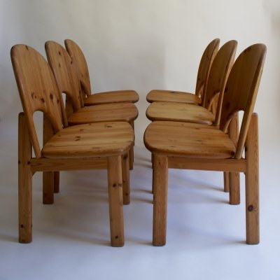 Set of 6 Danish 1970's Glostrup Mobelfabrik Dining Chairs
