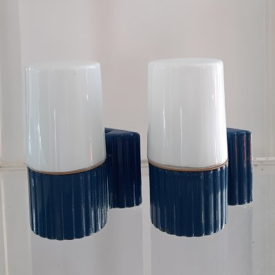 Pair of wall lamps by Sigvard Bernadotte for IFO Sweden, 1950s