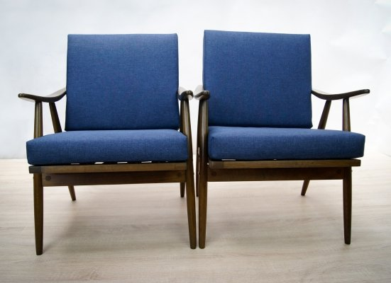 Pair of Czechoslovak Armchairs from TON, 1960s