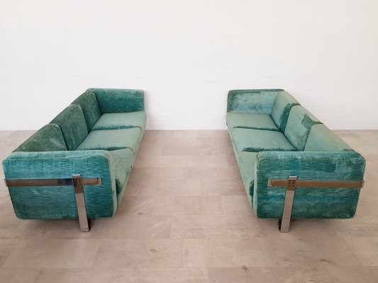 Rare Luigi Caccia Dominioni sofa set for Azucena, 1960s