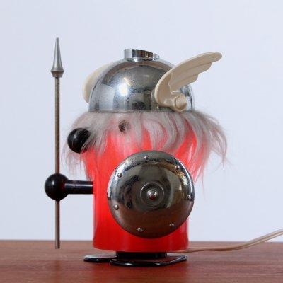 Olaf the viking desk lamp by Old Timer Ferrari, 1960s
