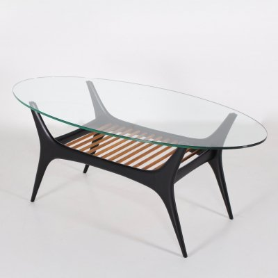 Model 208 coffee table by Alfred Hendrickx for Belform, 1950s