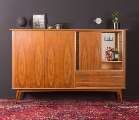 Walnut sideboard, Germany 1950s