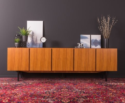 Walnut sideboard, Germany 1960s