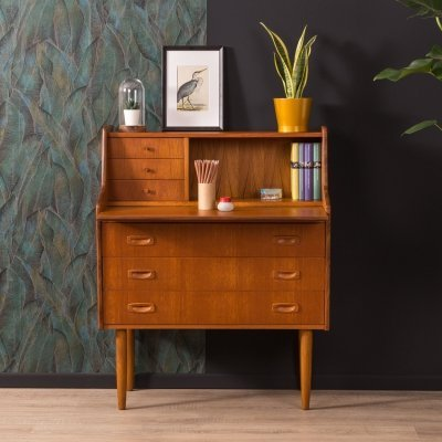 Teak secretary desk, Germany 1960s