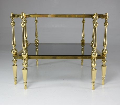 French 20th-century vintage brass table, 1970's