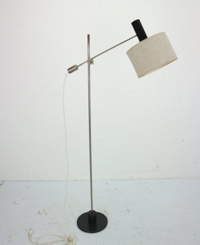 Dutch Design Minimalistic Adjustable Floor Lamp by Anvia, 1950