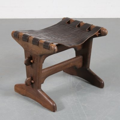 Ecuadorian stool by Angel Pazmino, Ecuador 1960s