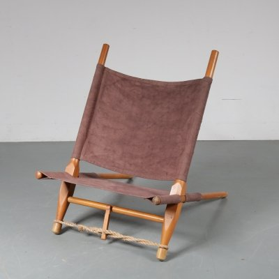 Saw lounge chair by Ole Gjerløv-Knudsen for Cado, Denmark 1960s