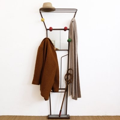 Large coat hanger & hat rack from the 1960s-1970s