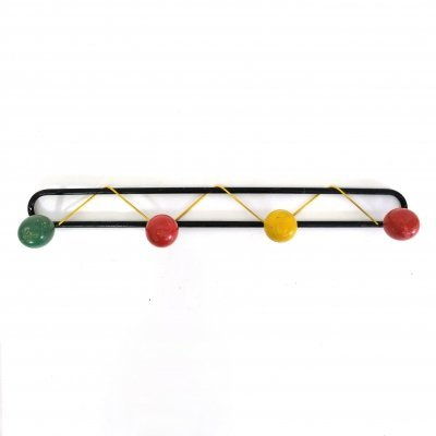 Multicolored coat rack, France 1960's-1970's