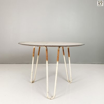 Modernist garden table from the 1950's