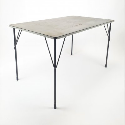 Rare Mid Century Dutch Design table by Wim Rietveld for Gispen, 1950s