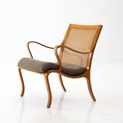 Nils Rooth 'Vienna' Beech Chair, Sweden 1975