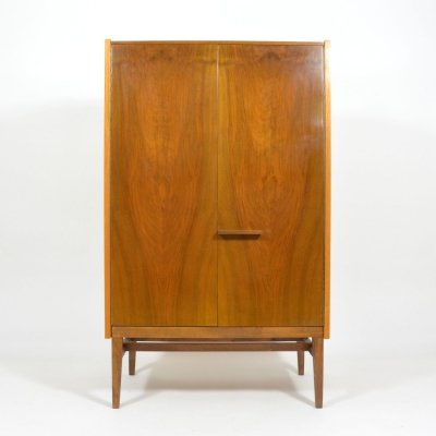 Tall Dresser In Wood by Frantisek Mezulanik, Czechoslovakia 1965