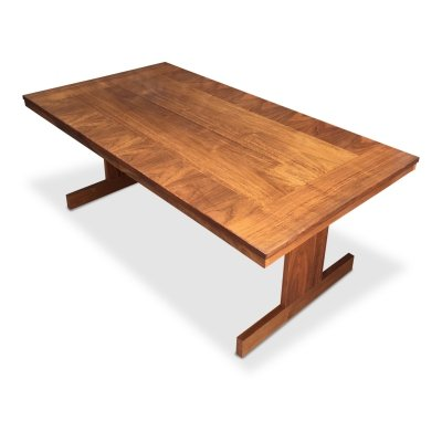 Mid-Century Swedish Teak Coffee Table, 1970s