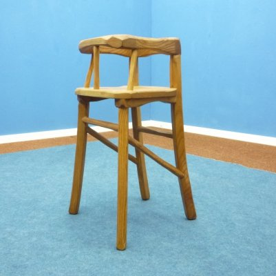 Anthroposophical Children's High Chair, 1920s