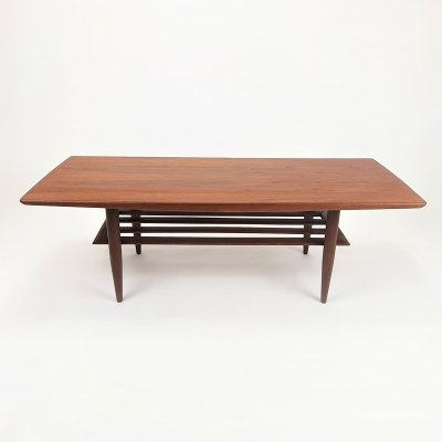 Mid Century Teak design coffee table, 1950s