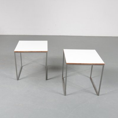 Pair of side tables by Pastoe, the Netherlands 1960s