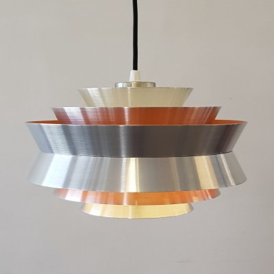 Aluminium pendant by Carl Thore for Granhaga, 1960s