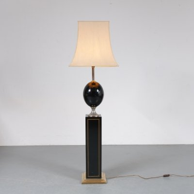 Luxurious floor lamp by Maison Barbier, France 1970s