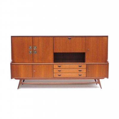 Vintage sideboard by Louis van Teeffelen for Wébé