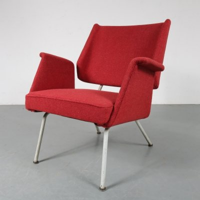 1956 Unique German lounge chair by Herbert Hirche for Walter Knoll