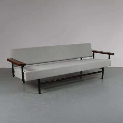 Early edition sleeping sofa by Rob Parry for Gelderland, the Netherlands 1950s