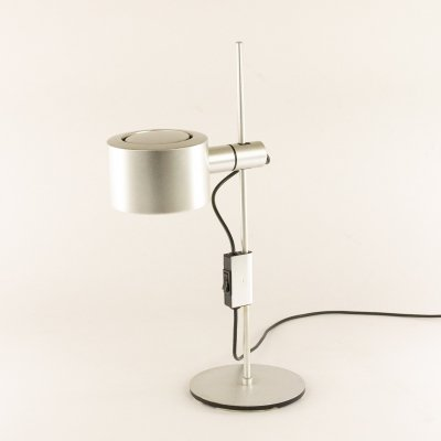 Aluminium table lamp by Mark Parrish for Conelight Limited, 1960s