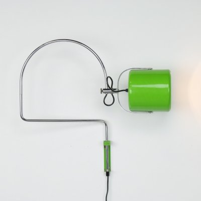 Wall lamp by J. Hoogervorst for Anvia Almelo, 1960s