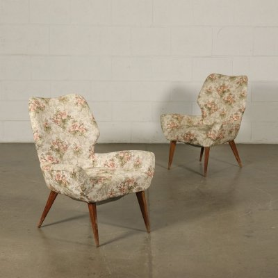 1950s Vintage Armchairs