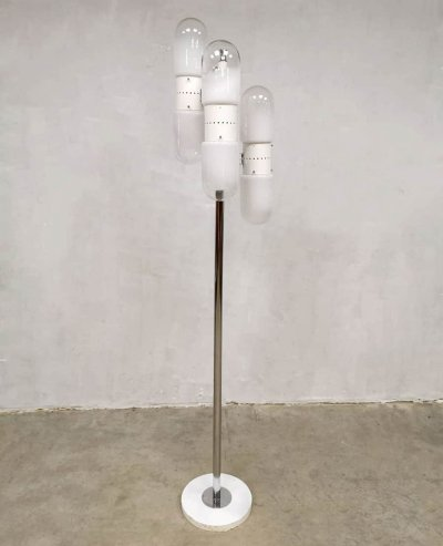 Vintage Murano Glass floor lamp by Carlo Nason for Mazzega