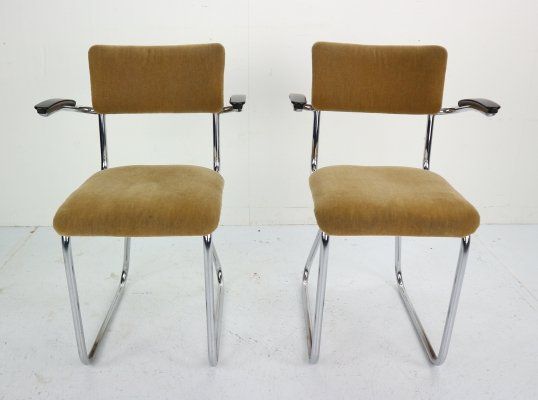 Set of 2 Industrial Armchairs, Dutch Design 1960s