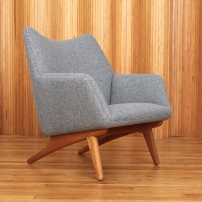Illum Wikkelso lounge chair by Mikael Laursen Denmark