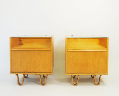 Pair of NB01 cabinets by Cees Braakman for Pastoe