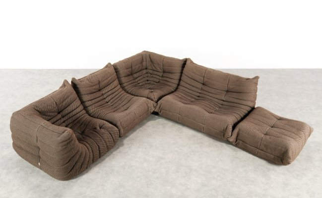 Togo Modular Sofa by Michel Ducaroy for Ligne Roset, 1970s