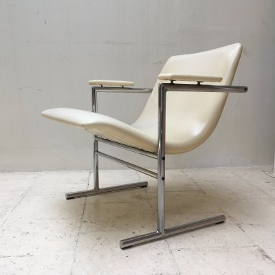 Oslo lounge chair by Rudi Verelst for Novalux, 1960's
