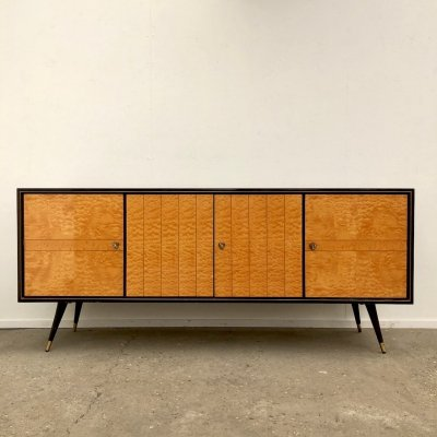 Vintage high gloss sideboard 1970s