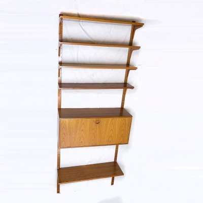 Teak Shelving Unit by HG Furniture