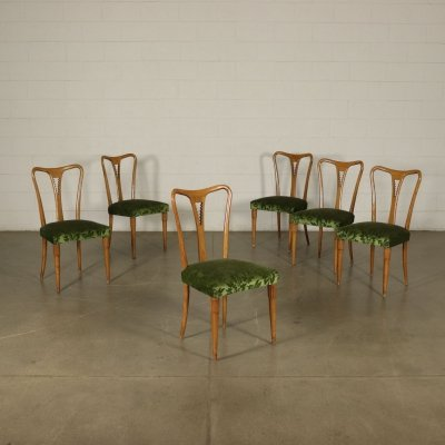 Set of 6 Vintage Chairs, 1950s