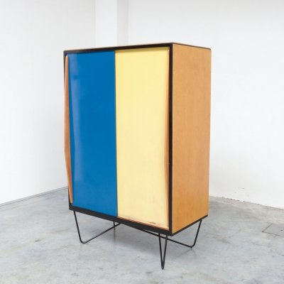 Rare Wardrobe Cabinet by Willy Van Der Meeren