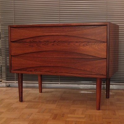 Niels Clausen Brazilian Rosewood Chest of Drawers for N.C Mobler