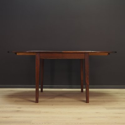 Vintage rosewood dining table, Denmark 1970s