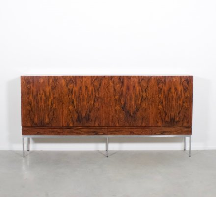 Rio Rosewood B 60 Highboard by Dieter Waeckerlin for Behr