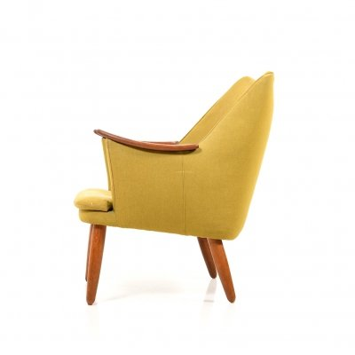 Mid Century Modern Danish Lounge Chair, 1950s