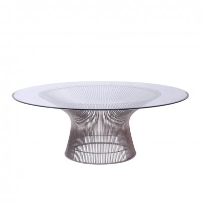 Wire Frame Coffee Table by Warren Platner for Knoll International