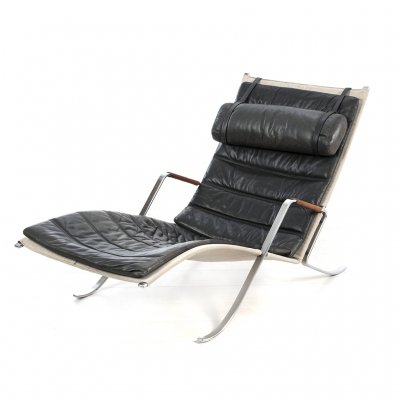 Grasshopper FK87 lounge chair by Fabricius & Kastholm, 1968