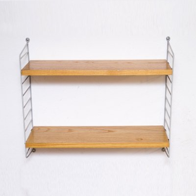 Ash & grey ladders Wall Shelf by String