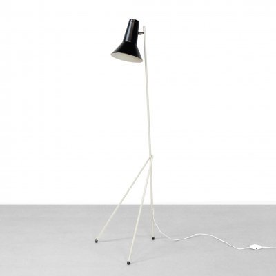 Model 333 floor lamp by Willem Hagoort for Hagoort Lighting, 1950s